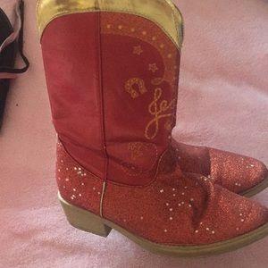 Disney boots - Jessie